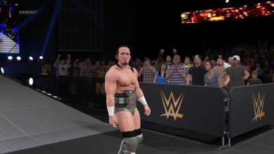 "WWE 2K15 ""Entrances - Mark Henry, Rob Van Dam, and Adrian Neville"""