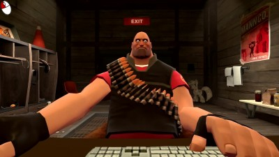 "Team Fortress 2 ""Heavy Gets a New Video Game"""