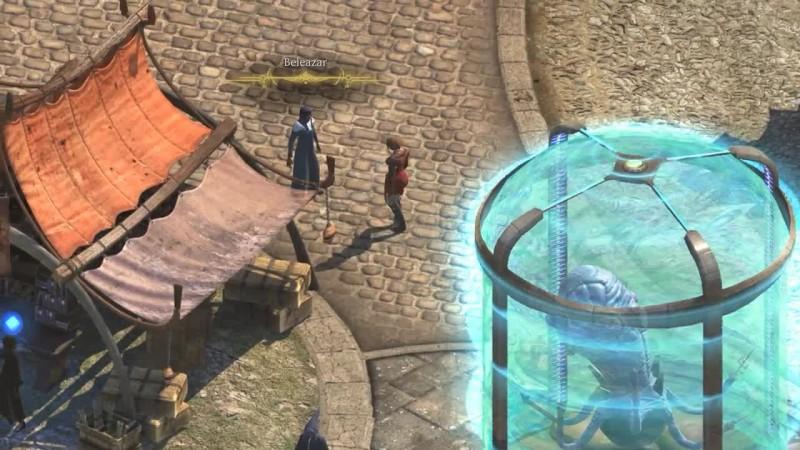 Torment: Tides of Numenera -интерактивный ролик что-то вроде квеста