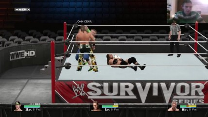 WWE 2K15 Survivor Series 2009 John Cena vs Triple H vs Shawn Michaels