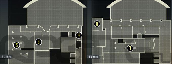 Верхние этажи
