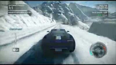 "Need for Speed: The Run ""Snow Level Demo Gameplay"""