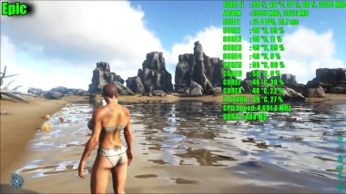 ARK Survival Evolved GTX 1080 Ti OC | 1080 EPIC - ВЫСОКИЙ | Фреймрейт TEST