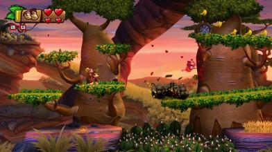 Donkey Kong Country: Tropical Freeze (Switch) - зимний отдых на дорогом курорте