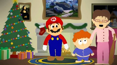 Новогодний обзор на Super Mario 3 от unicorn290