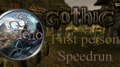 Спидран Gothic 3 в режиме от первого лица