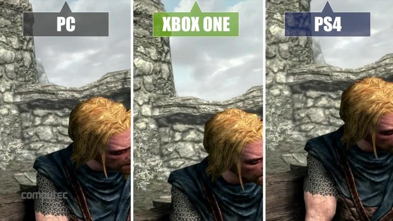 Сравнение графики TES 5: Skyrim - Special Edition - PC vs. PS4 vs. Xbox One [PC Games]