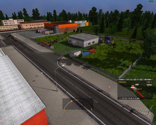 Euro truck simulator 2 baltics country map beta version 0 1