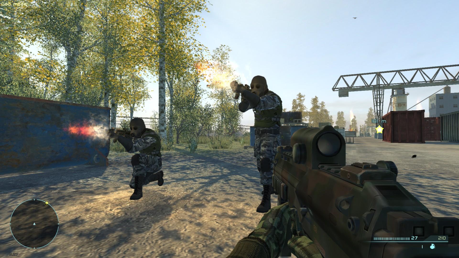 Шутеры Manhunter и Chernobyl Commando удалены из Steam