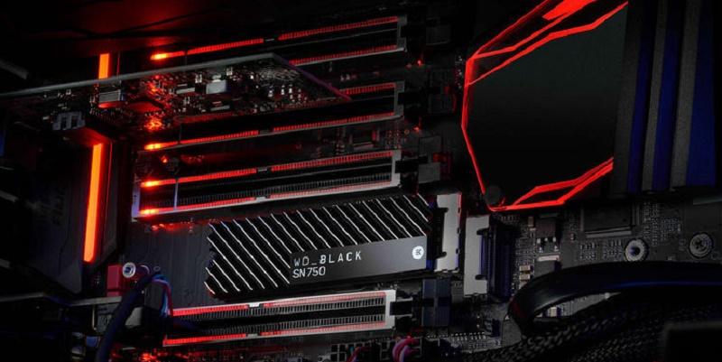 Продажи WD BLACK SN750 NVMe SSD начнутся 15 марта