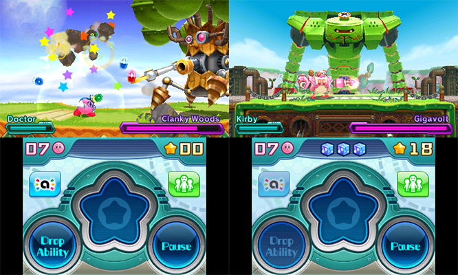 Kirby Gameplay: Going Mech in Planet Robobot