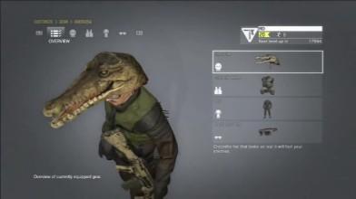 Metal Gear Online - Croc Cap