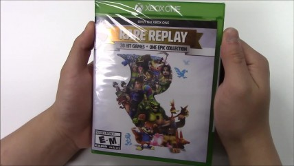 Распаковка Rare Replay (Xbox One)