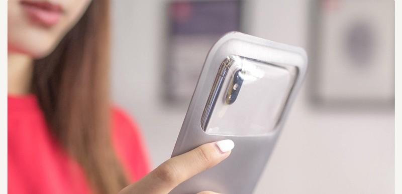 Xiaomi представила чехол длясмартфонов сзащитой отпопадания воды
