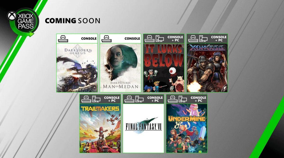 Названы новинки Xbox Game Pass в августе
