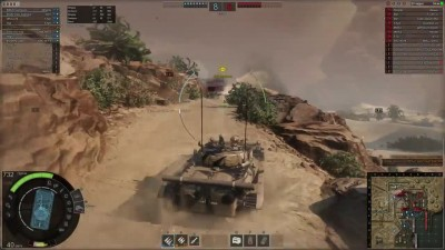 НЕГАТИВНЫЙ УГОЛ или БМП-2 в Armored Warfare! 17,5+