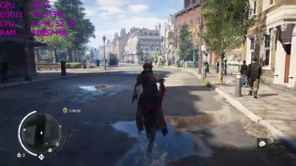 Ryzen 7 1700 в Assassin's Creed Syndicate (GTX 1060)