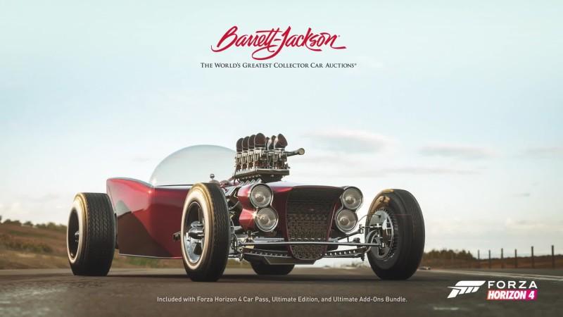 Трейлер пакета автомобилей Barret-Jackson для Forza Horizon 4