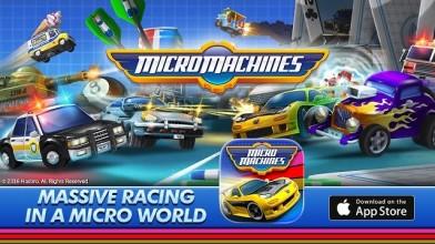 Chillingo выпустили новый трейлер и и назвали дату выхода Micro Machines