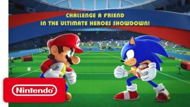 Трейлер режима Heroes Showdown игры Mario & Sonic at the Rio 2016 Olympic Games