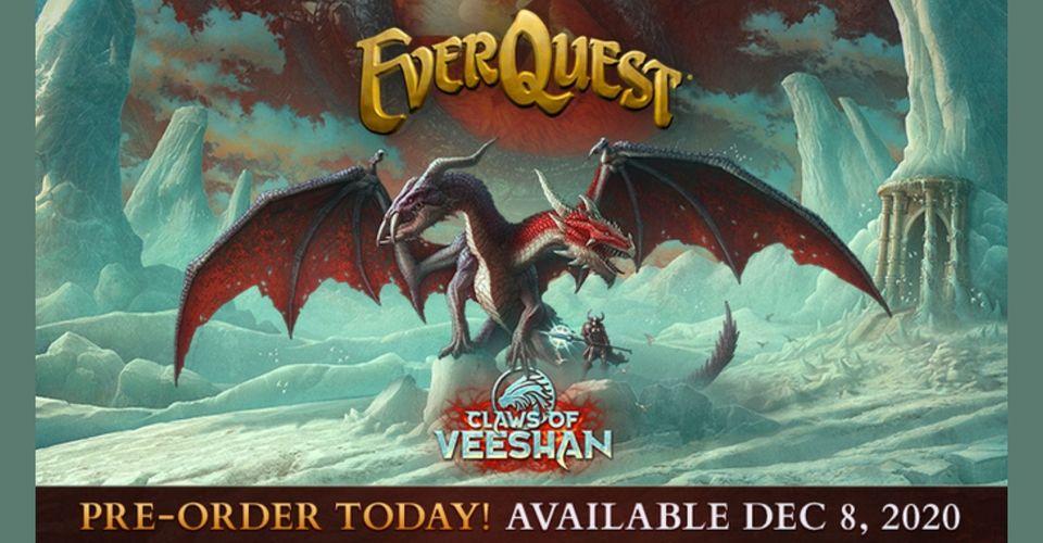 Расширение Claws Of Veeshan для EverQuest теперь доступно для предзаказа