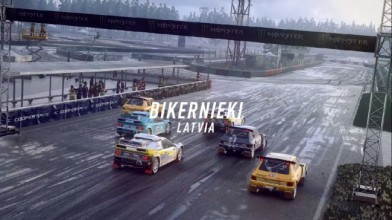 DiRT Rally 2.0 - DLC ралли-кросс в Латвии