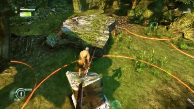 Прохождение Enslaved: Odyssey to the West Premium Edition - Часть 2 Разрушенный город