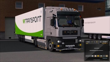 "ETS2 ""Обзор MAN TGA v1.3 by MADster"""