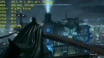 Batman- Arkham Knight -���� ������� ������ GTX 970 OC - 1080p GameWorks OFF