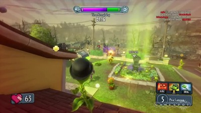 "Plants vs. Zombies: Garden Warfare ""Геймплей за peashooter"""