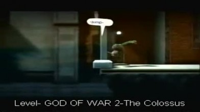LittleBigPlanet 2 God of War Level