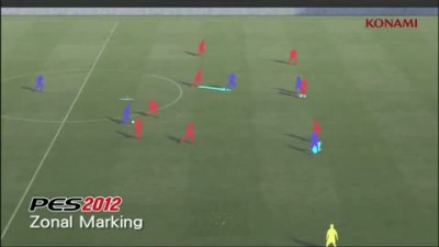 "PES 2012 ""Gameplay Video 05 - Zonal Marking"""