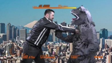 Godzilla (PS4) [Angry Joe - Русская озвучка RVV] - обзор от ЭнгриДжо на русском