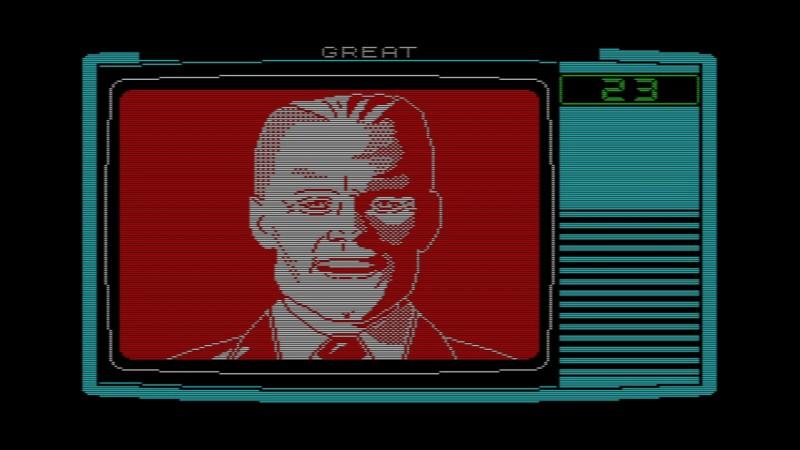 Так выглядел Макс в своей игре для ZX Spectrum