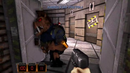 Duke Nukem 3D World Tour Геймплей - The Duke goes to Amsterdam!