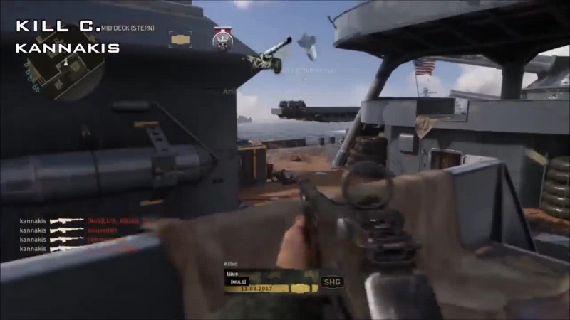 Call of Duty: WWII - Топ 10 Убийств Недели #4