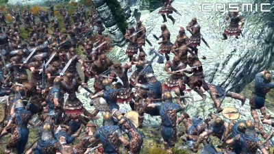 SKYRIM BATTLE - 1000 Imperial против 1000 Stormcloak