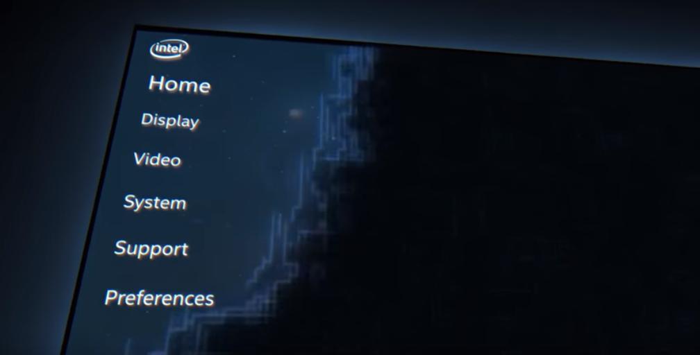 Intel дразнит рекламой новой панели управления для своих интегрированных GPU