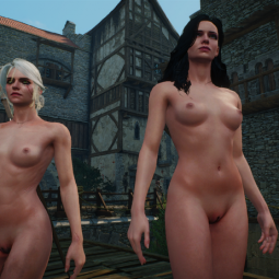 Witcher 3 Naked With Genital