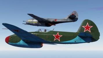 Первые полеты МиГ-9 и Як-15