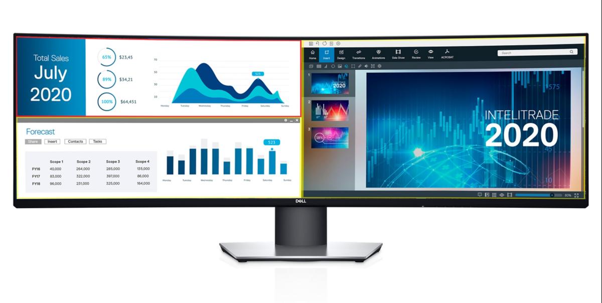 Монитор Dell UltraSharp U2719D получил безрамочный дизайн