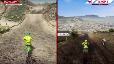 Сравнение | MX vs ATV Supercross Encore (2015) vs. MXGP 3 (2017) | На ультра | GTX 970