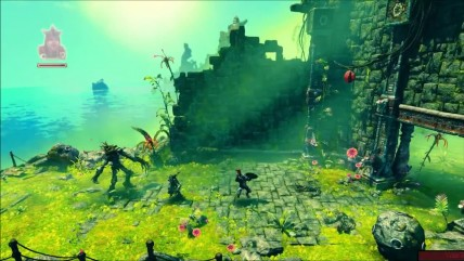 Прохождение Trine 3 The Artifacts of Power - ч3