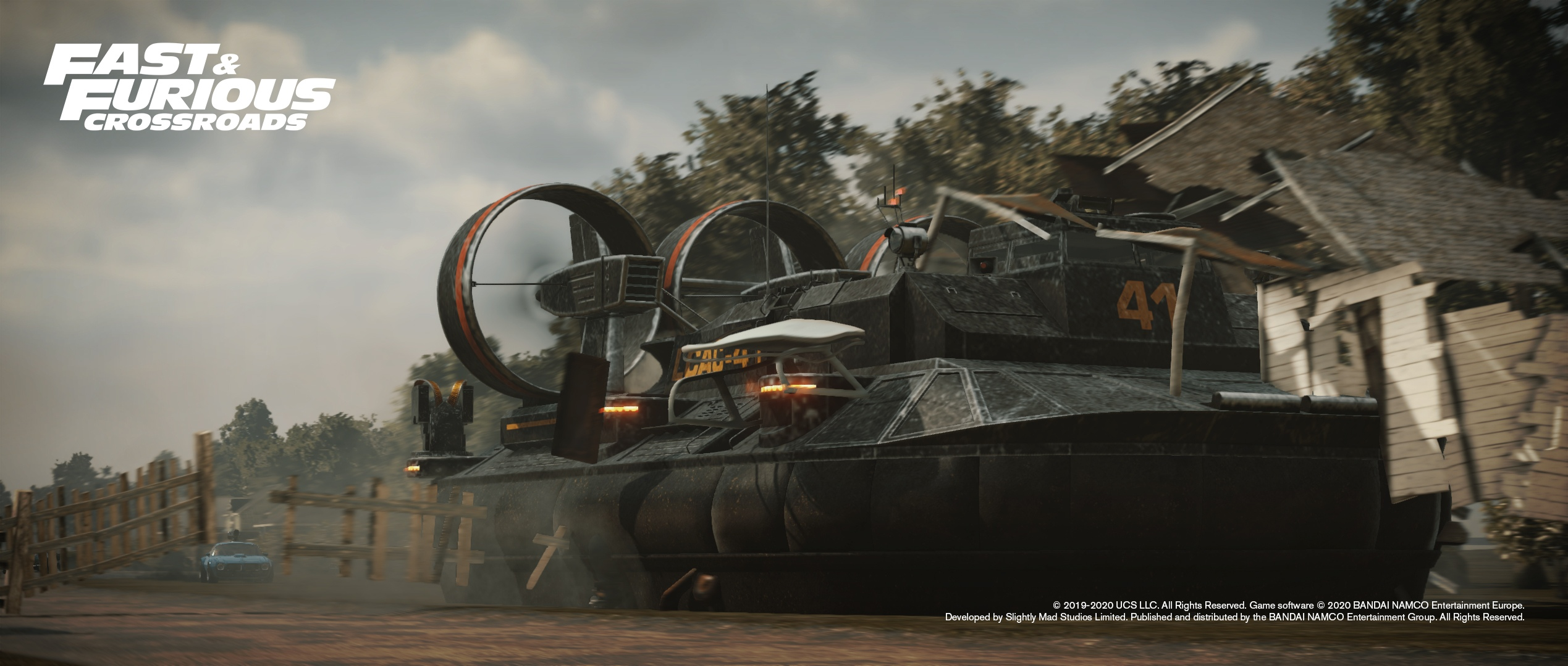 Официальные скриншоты Fast & Furious Crossroads