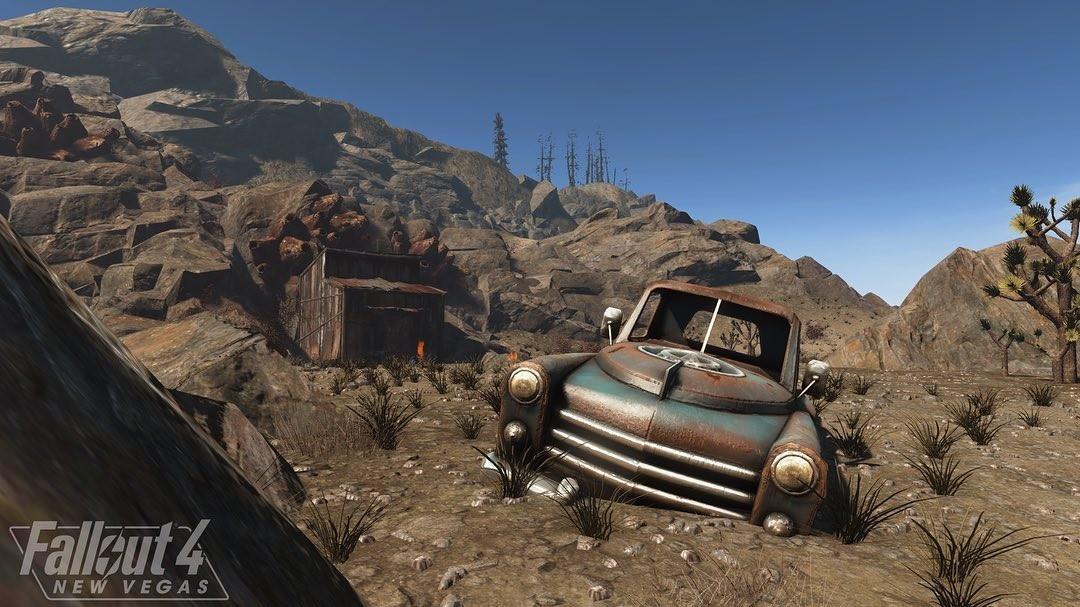 Новый игровой тизер-ролик Fallout 4: New Vegas