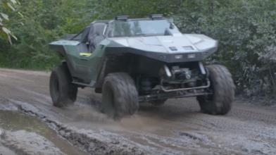 Поклонник Halo воссоздал культовый боевой джип Warthog