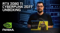 Распаковка видеокарты Cyberpunk 2077 Limited Edition GeForce RTX 2080 Ti
