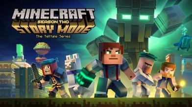 4 минуты геймплея Minecraft: Story Mode S2