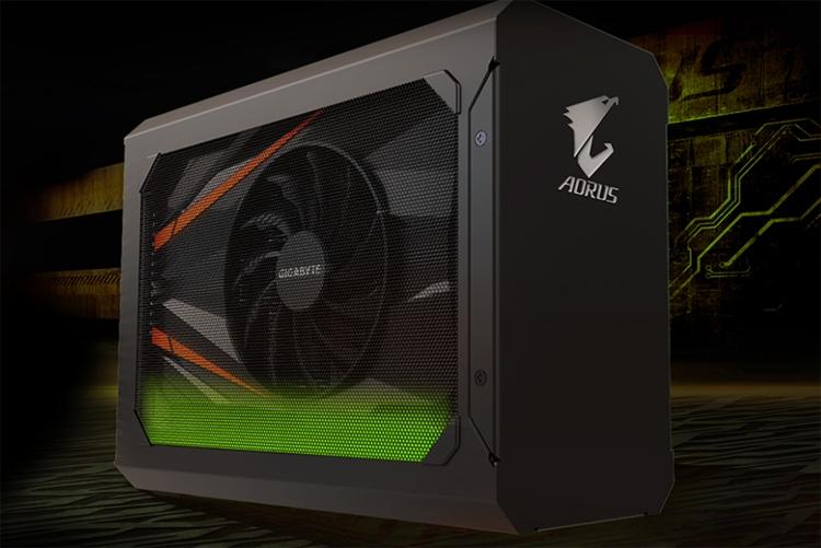 GIGABYTE представила AORUS GTX 1070 Gaming Box