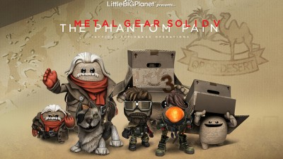 Набор костюмов из Metal Gear Solid V: The Phantom Pain для LittleBigPlanet 3